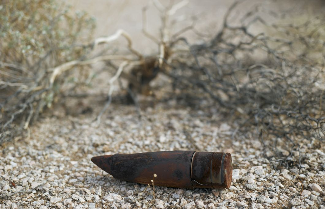 Unexploded ordinance, Goldwater Bombing Range (2013) by Mark Klett