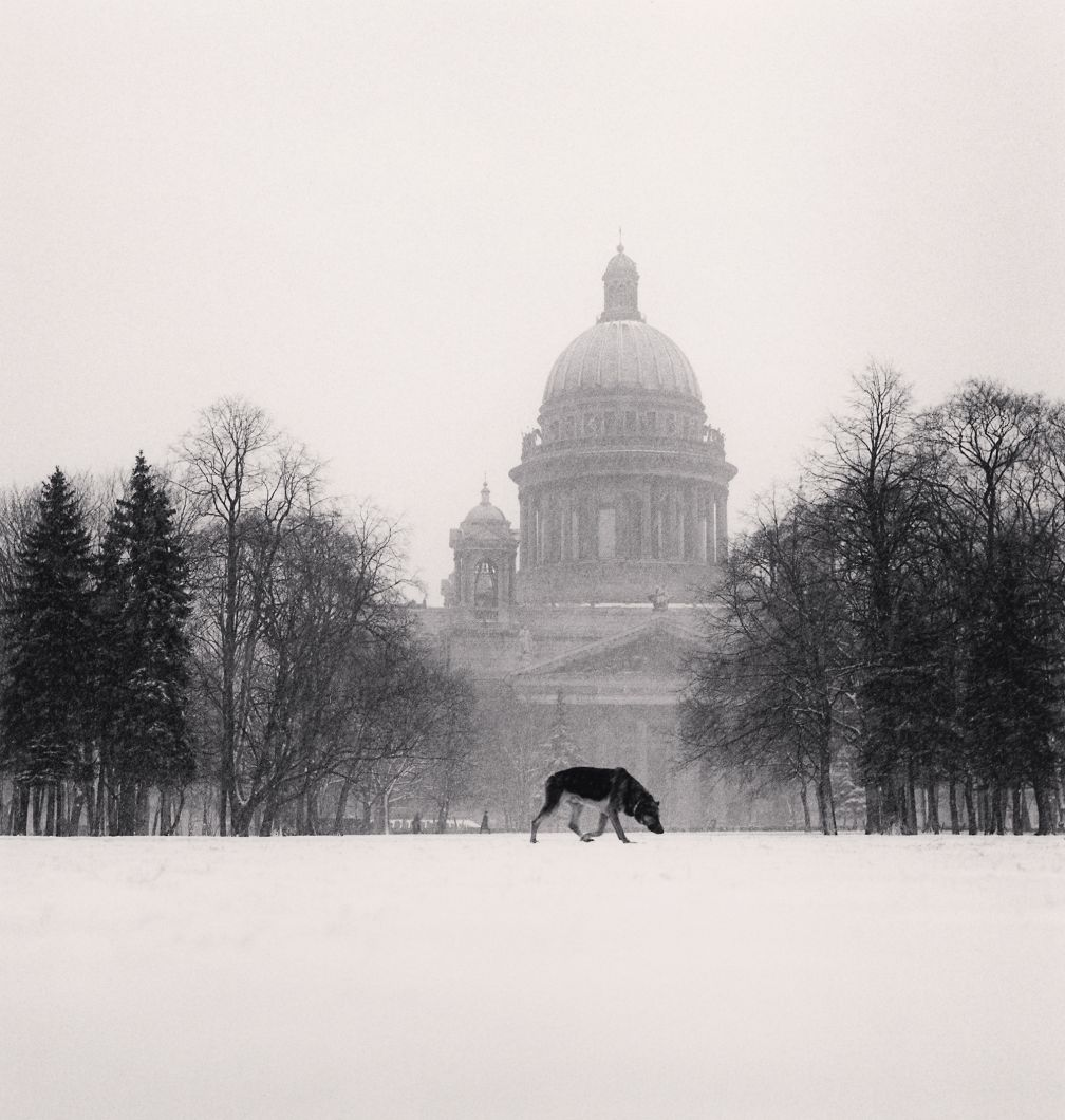 Cold Dog Decembrist Square, St. Petersburg, Russia (1999) by Michael Kenna