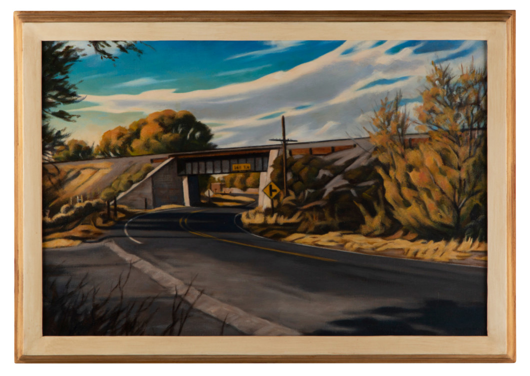 Trestle and Road (2021) by Daniel Robinson