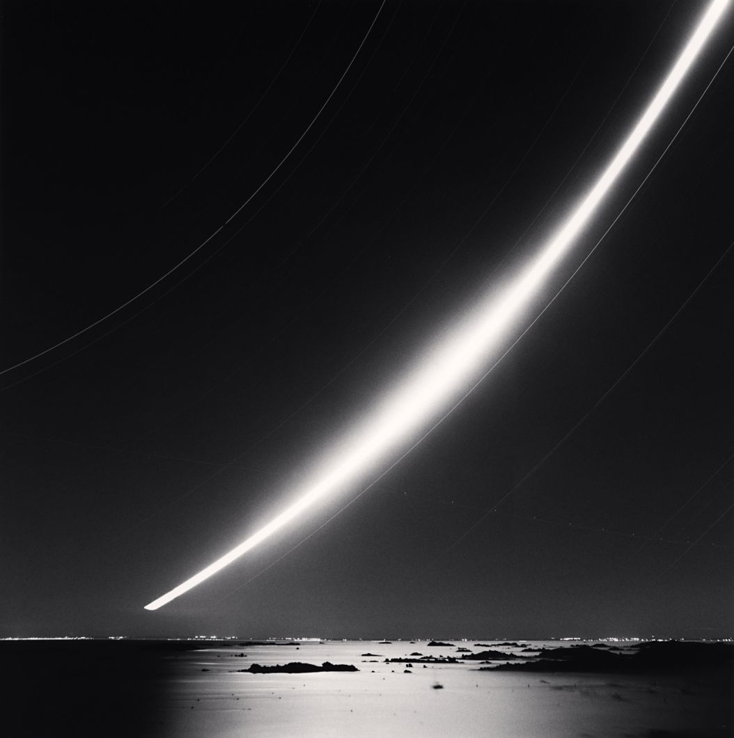 Full Moonrise, Chausey Islands (2007) by Michael Kenna