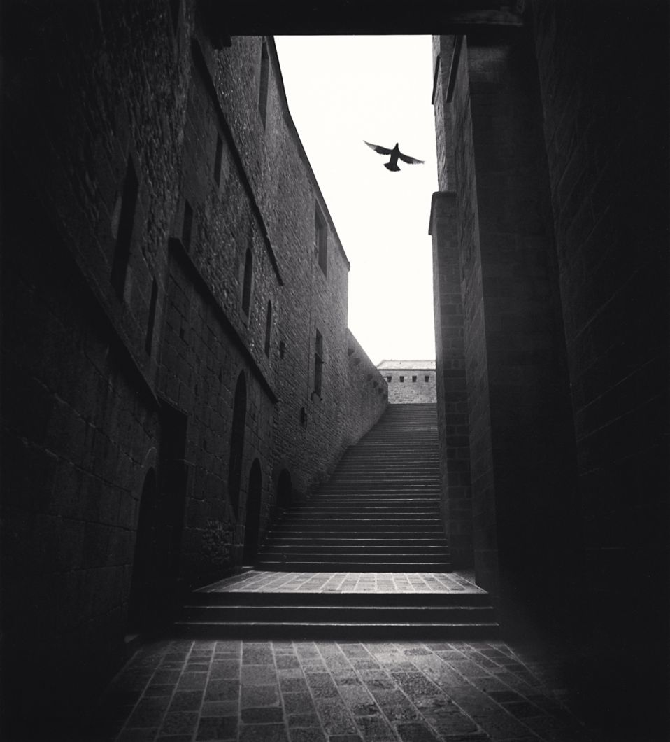 Invitation to Prayer, Mont St. Michel (1994) by Michael Kenna