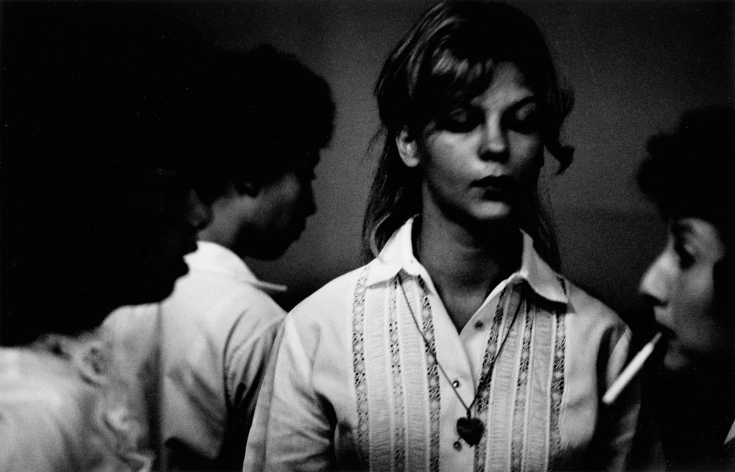 From The Age of Adolescence (woman with eyes closed) (1959-64) by Joseph Sterling