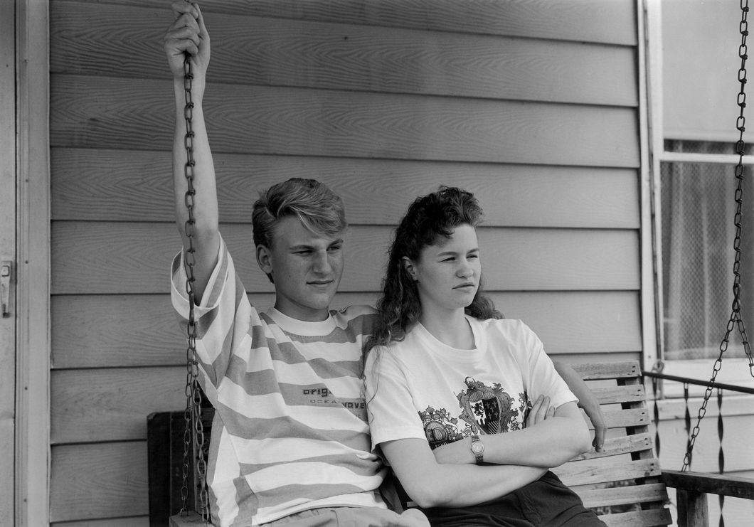 Momence, Illinois (1990) by Mark Steinmetz