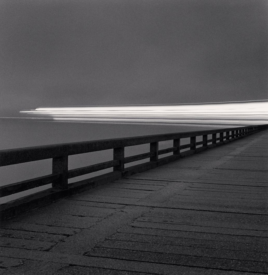 Night Ferry Departure, Calais, Pas-de-Calais (2000) by Michael Kenna