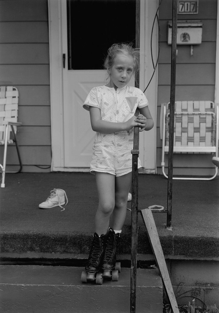 Petersburg, Illinois (1988) by Mark Steinmetz