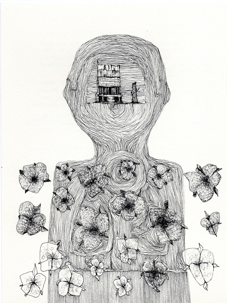 Untitled 10 (from New Drawings) (2021) by Rae Davis
