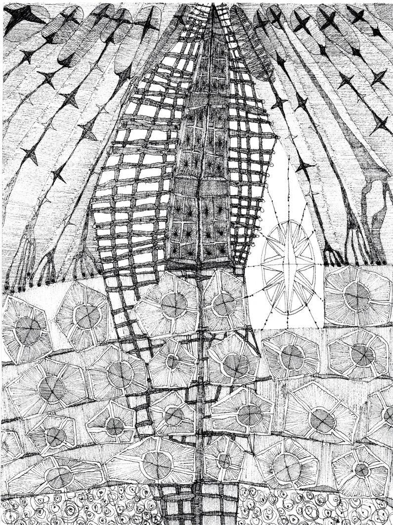 Untitled 14 (from New Drawings) (2021) by Rae Davis