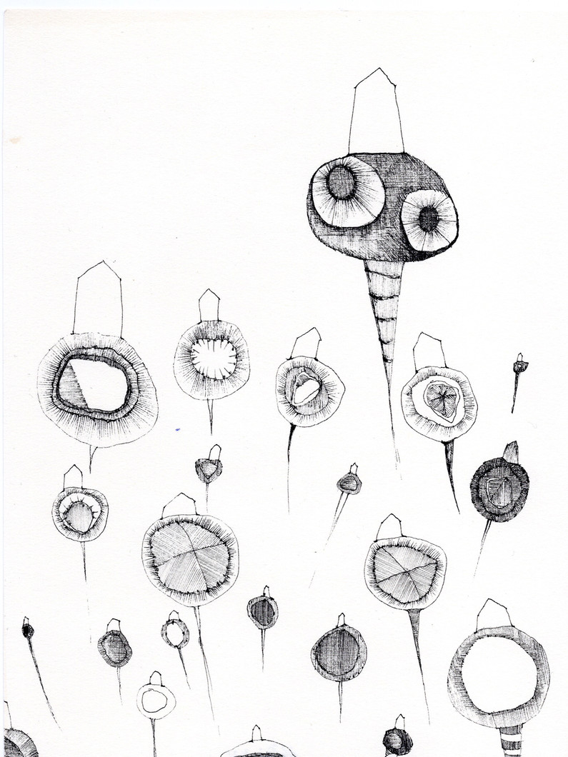 Untitled 15 (from New Drawings) (2021) by Rae Davis