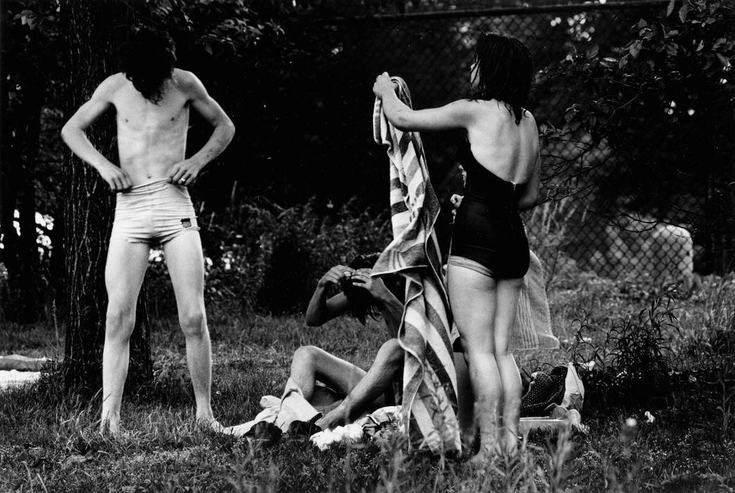From The Age of Adolescence (swimmers) (1959) by Joseph Sterling