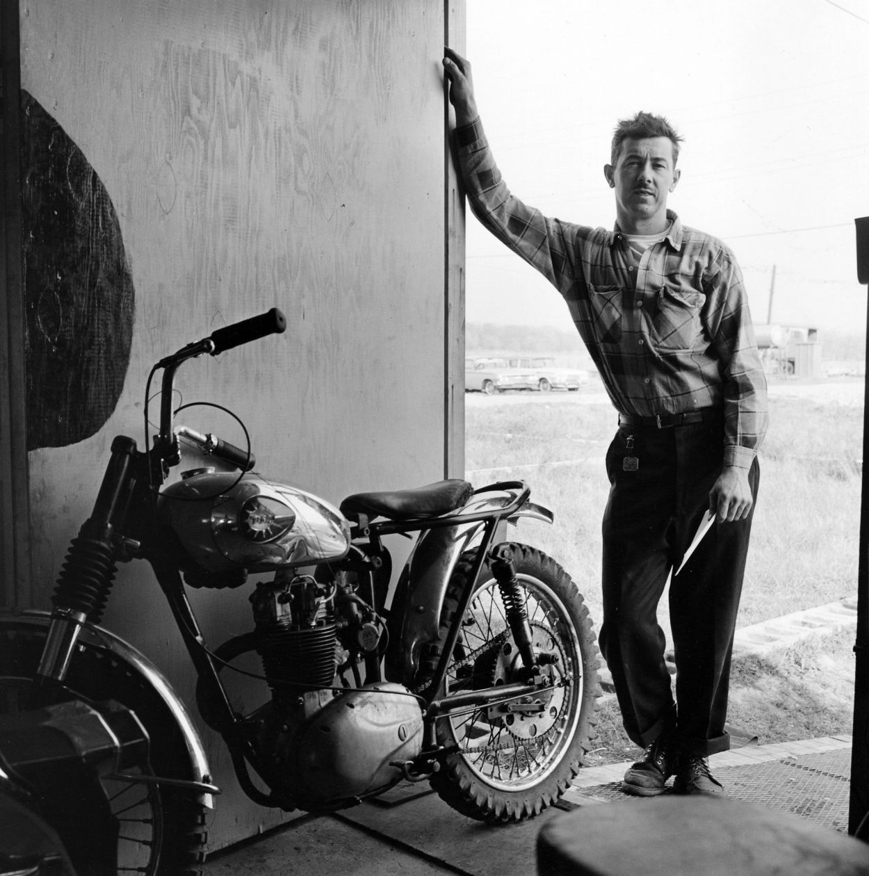 Johnny Goodpaster, Hobart, Indiana (1963-1967) by Danny Lyon