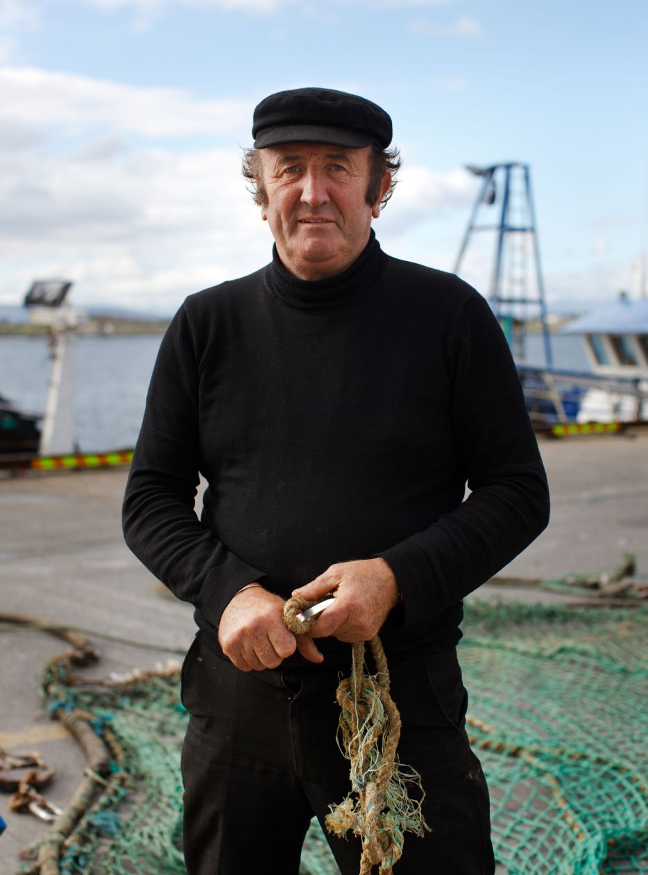 The Irish Skipper, Rossaveal, Ireland (2010) by Corey Arnold