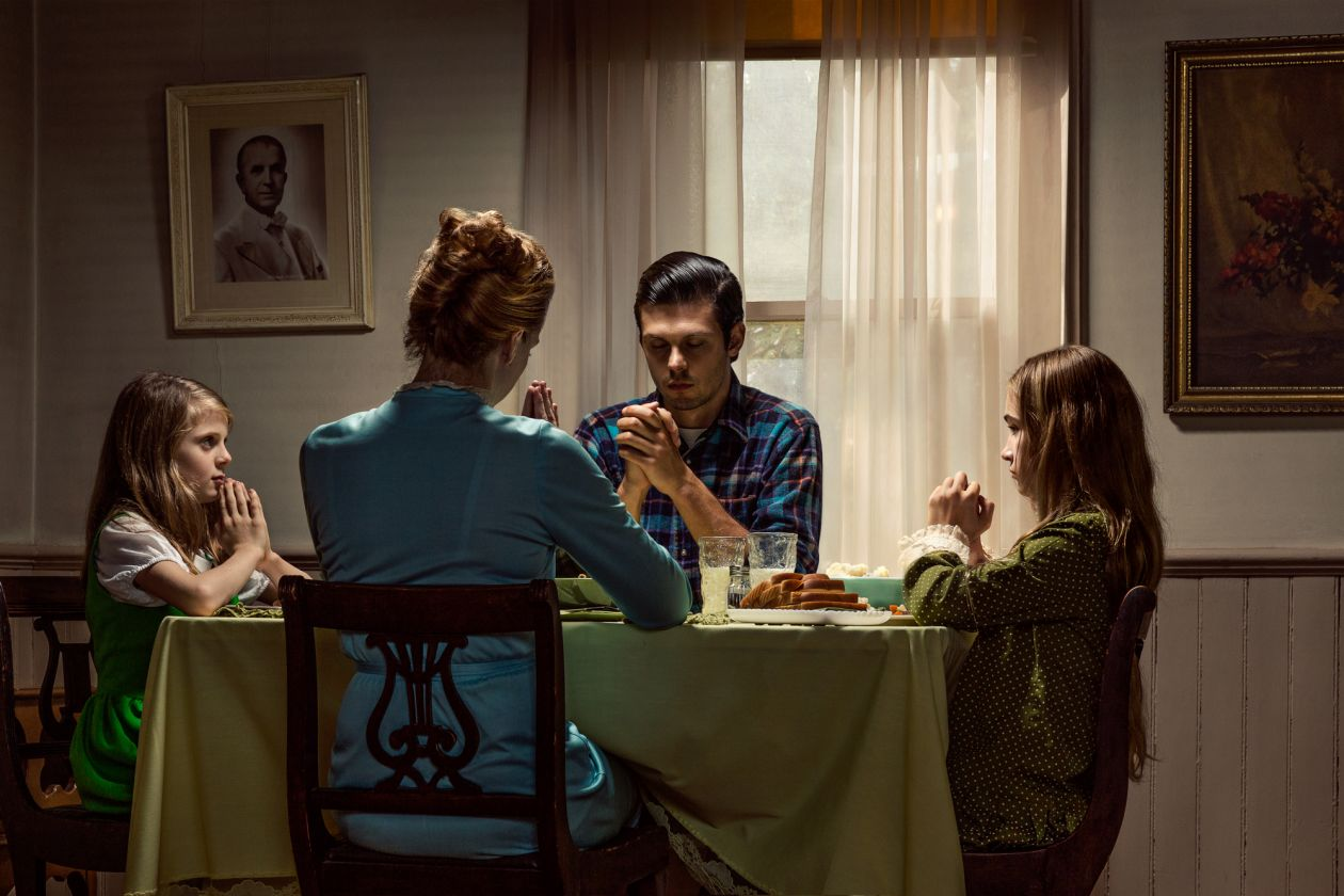 Table Prayer: Belmont House (2015) by Holly Andres