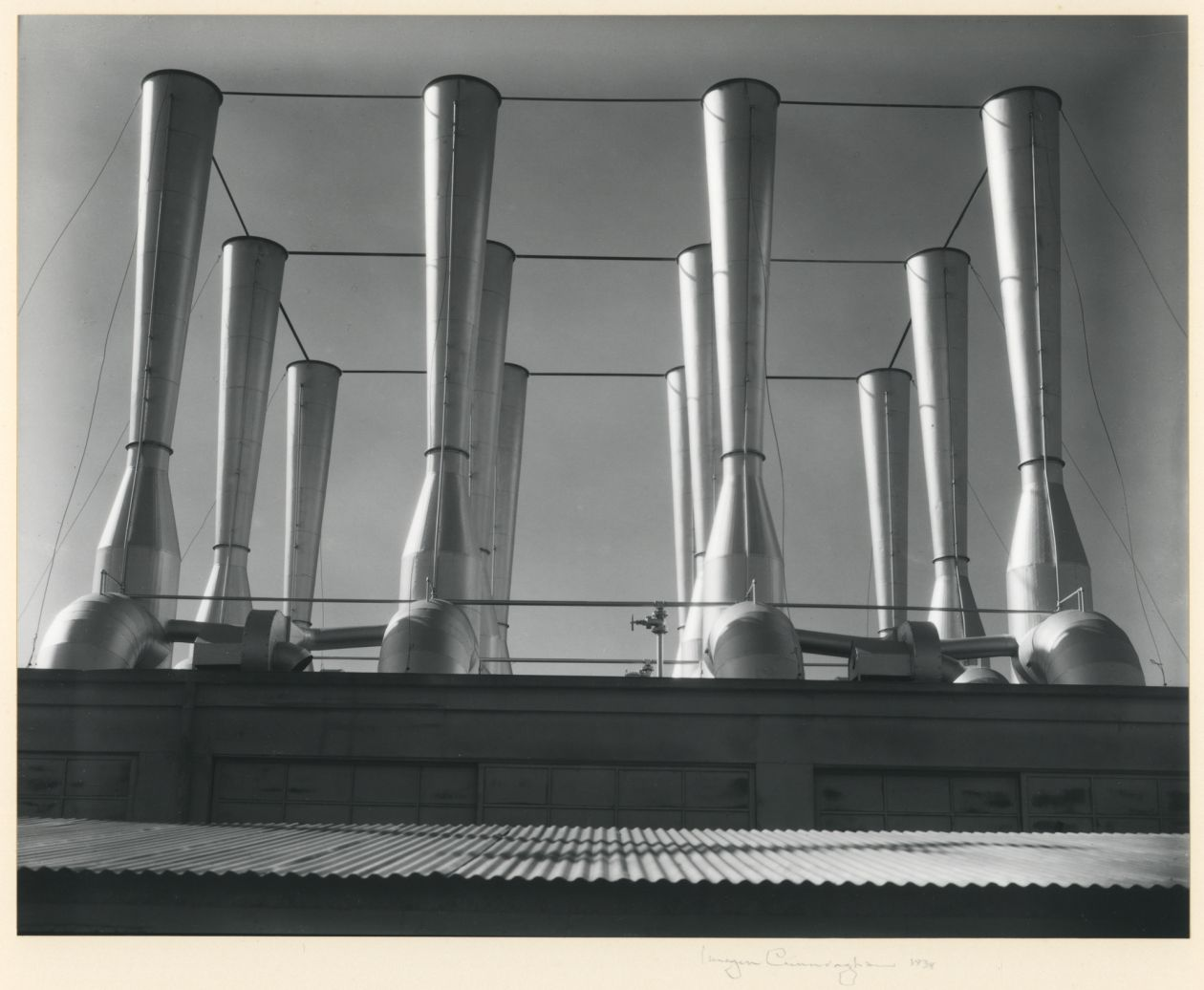 Fageol Factory Ventilators (1934) by Imogen Cunningham