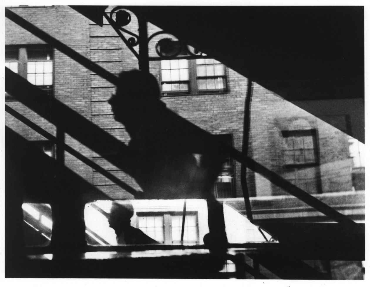 Win, Place and Show, 3rd Ave East (1947) by Louis Faurer