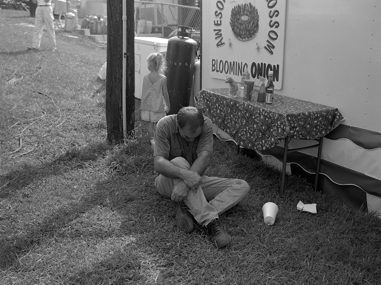 Untitled (blooming onion), from Carnival (2001) by Mark Steinmetz