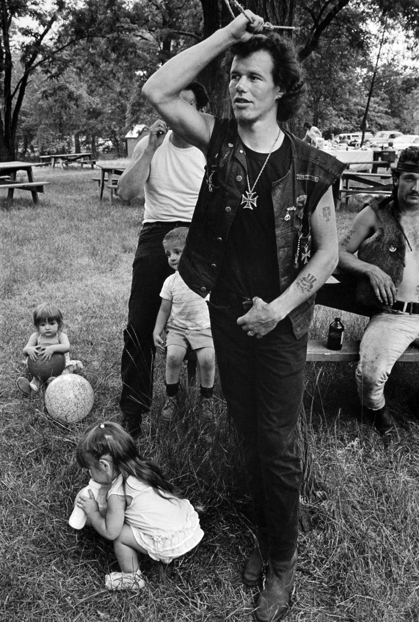 Cowboy at Rogue's Picnic, South Chicago (1963-1967) by Danny Lyon