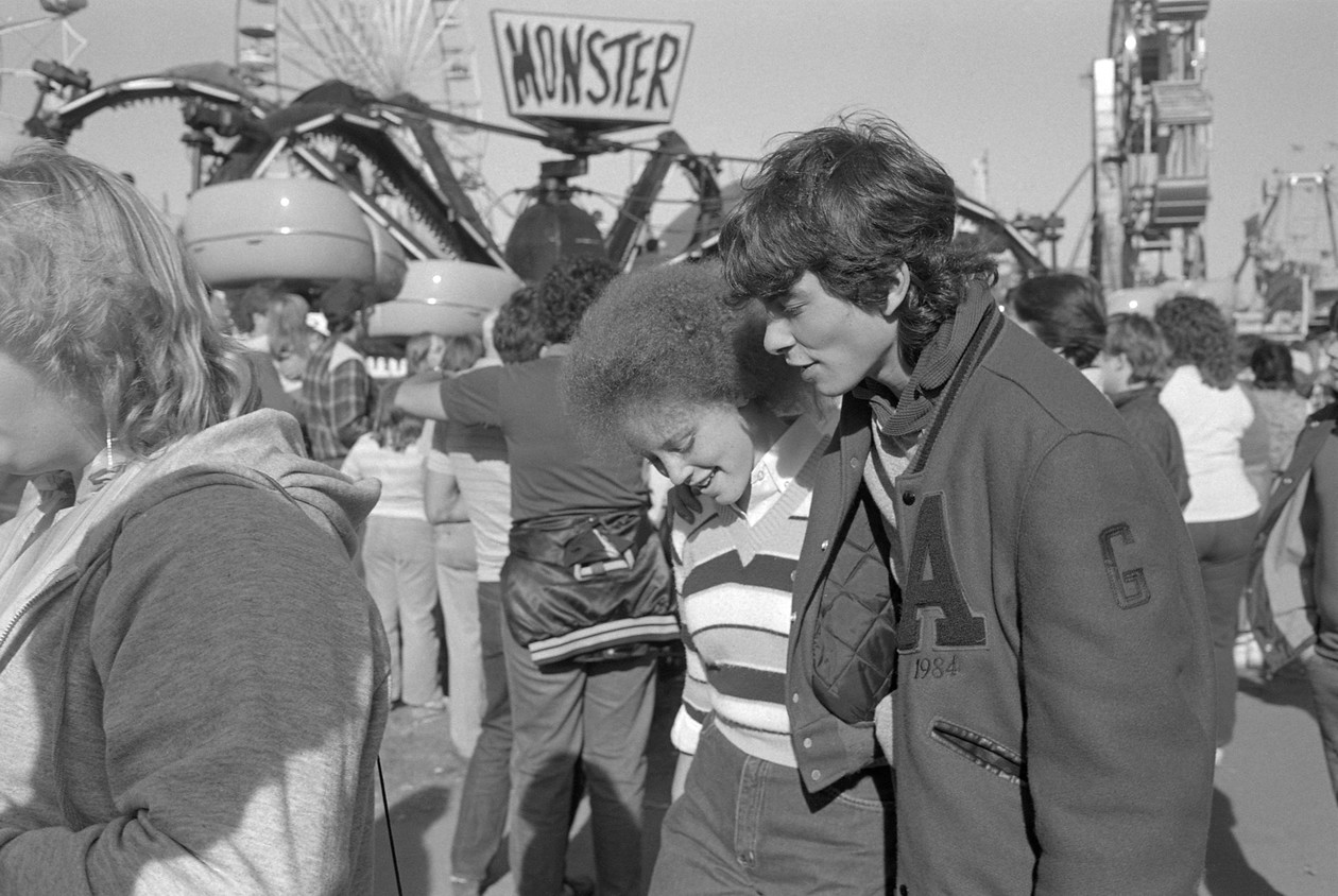 Untitled (varsity couple), from Carnival (1995) by Mark Steinmetz