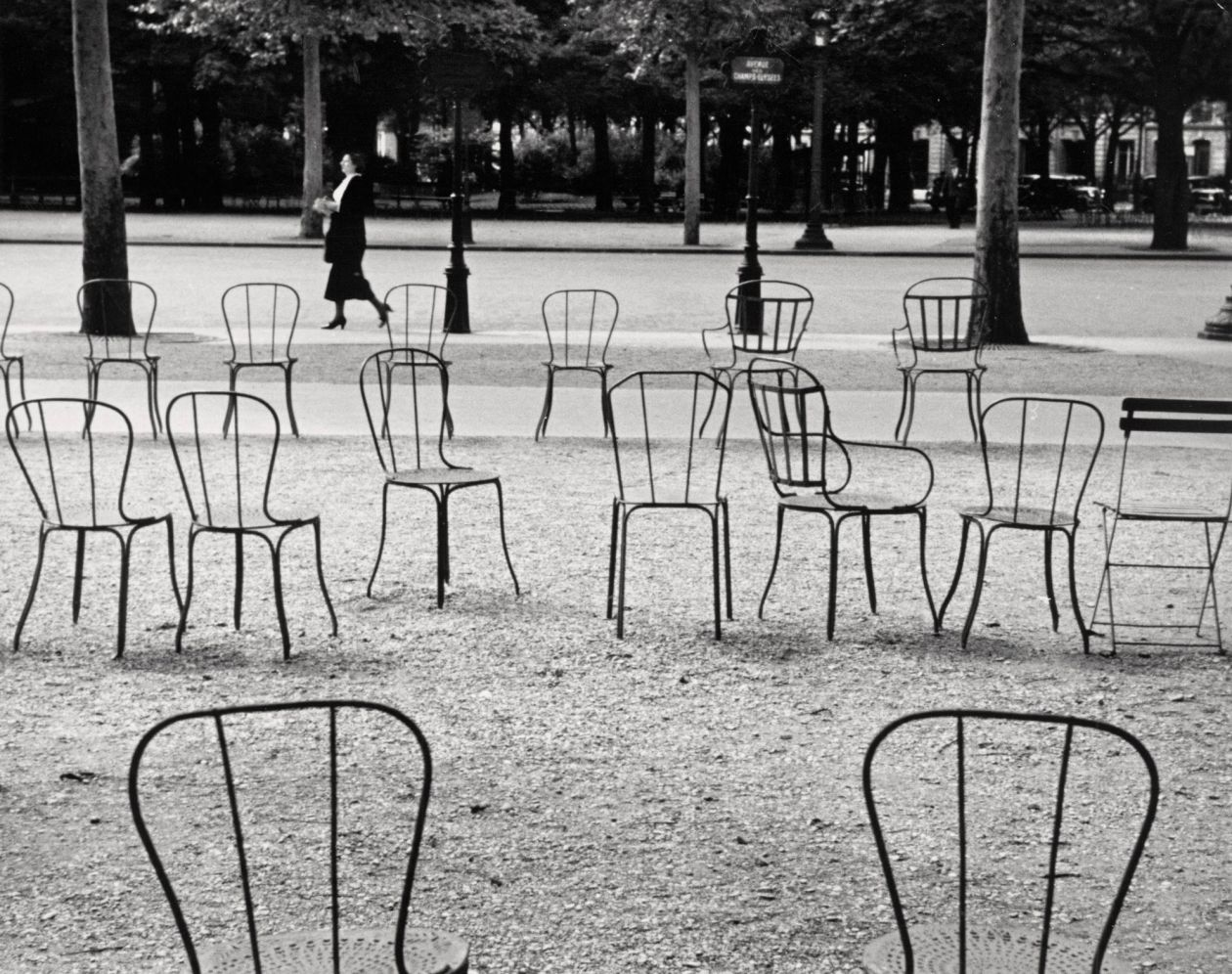 Chairs of Paris (1927) by André Kertész