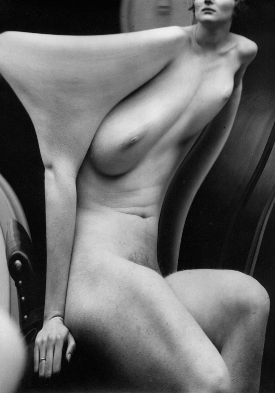 Distortion #166 (1933) by André Kertész