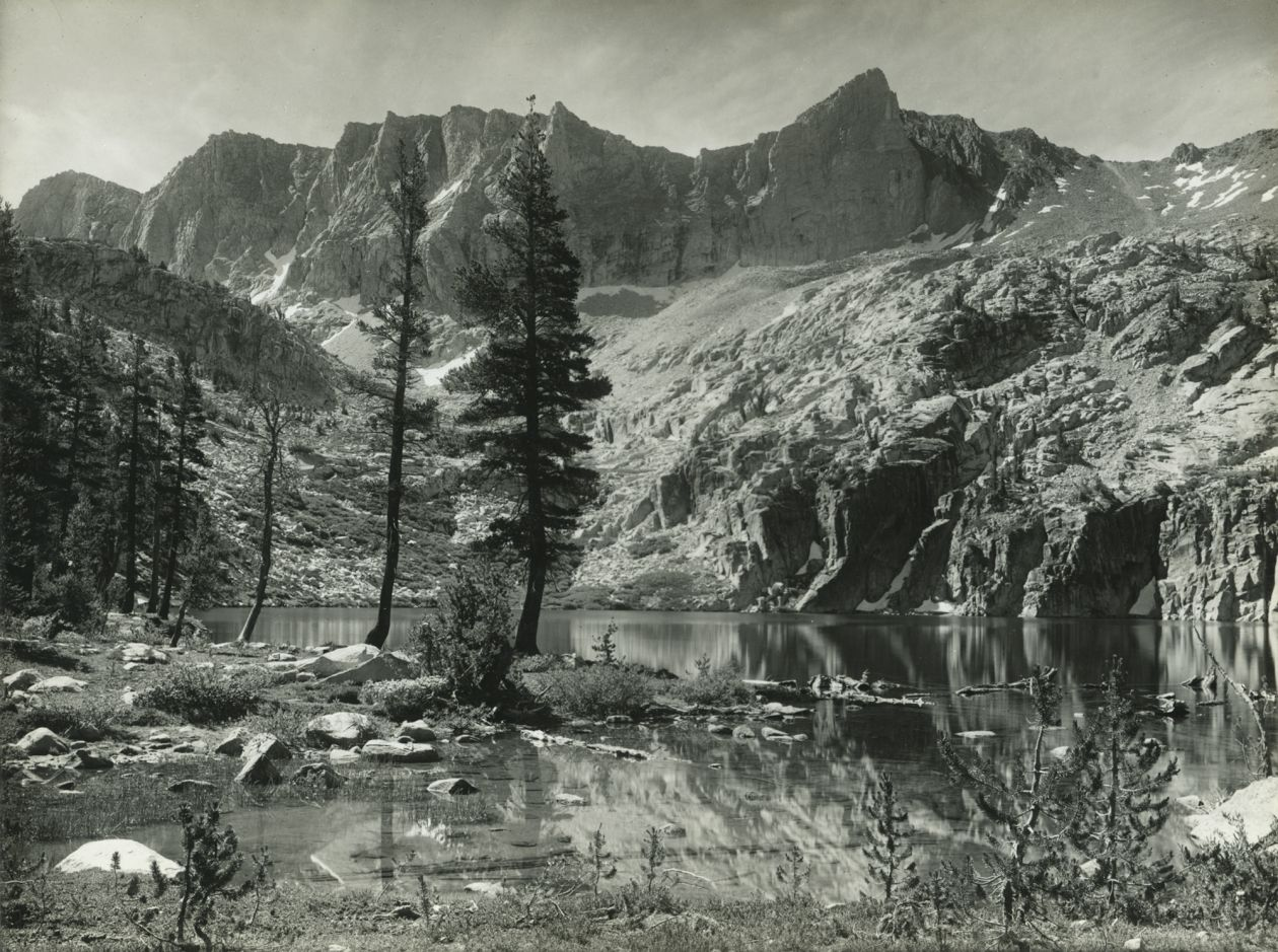 Kings River Canyon, Marion Lake (1935) by Ansel Adams