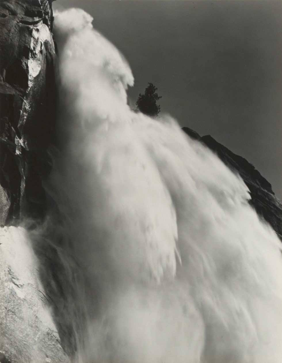 Nevada Fall (c. 1946) by Ansel Adams