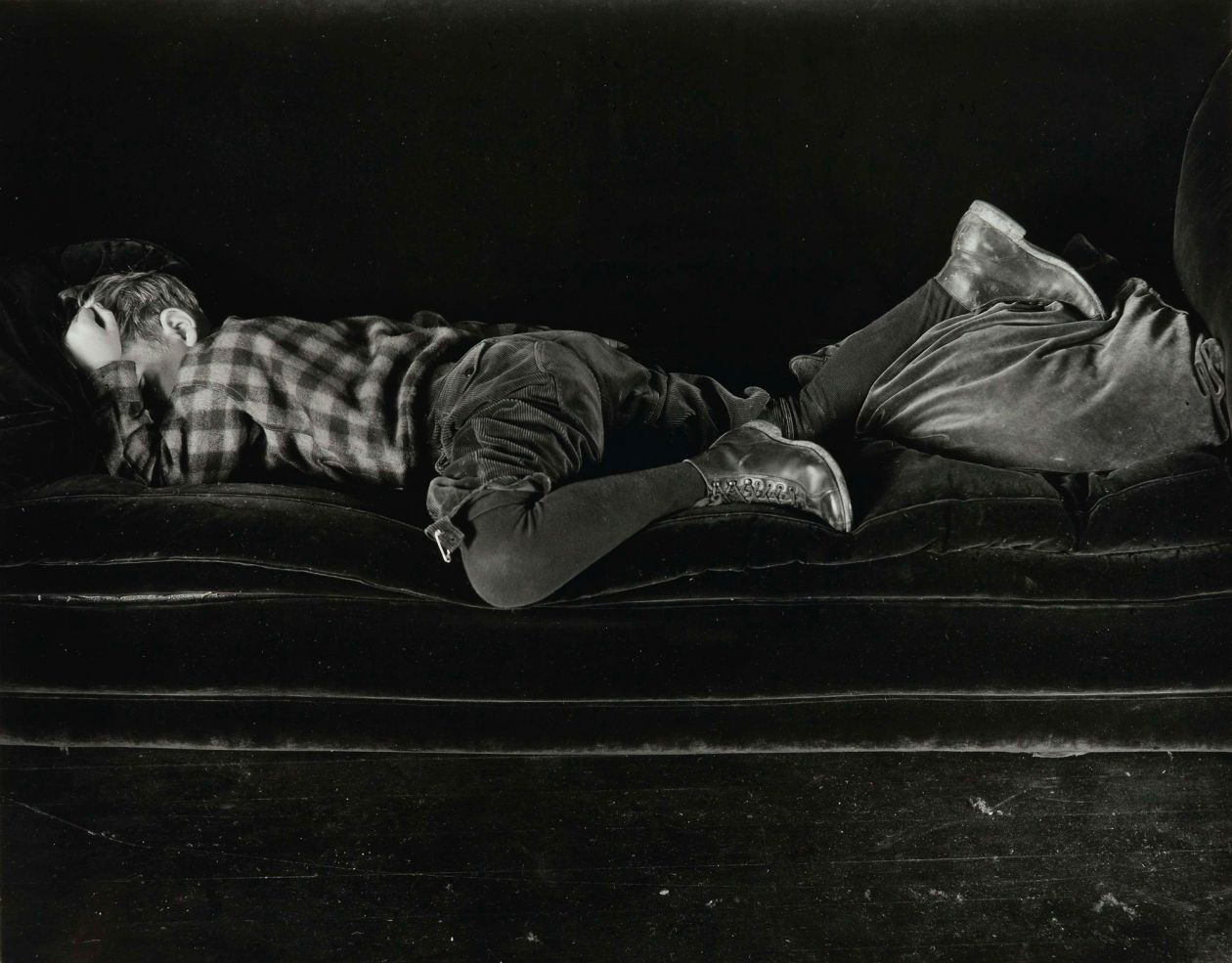 Neil (with first migraine) (1924) by Edward Weston