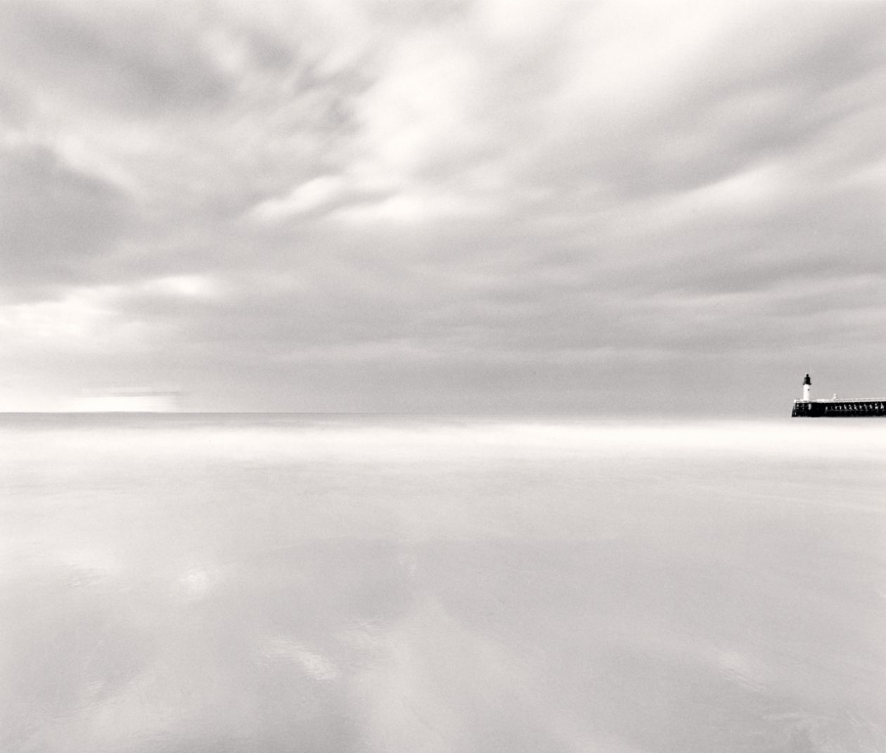 Ferry Departure, Calais (1998) by Michael Kenna
