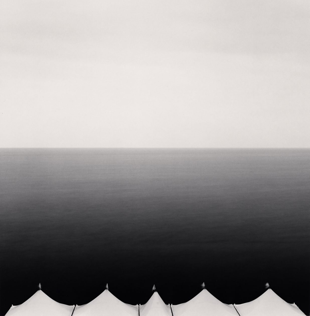 Five Canopies, Granville (2007) by Michael Kenna