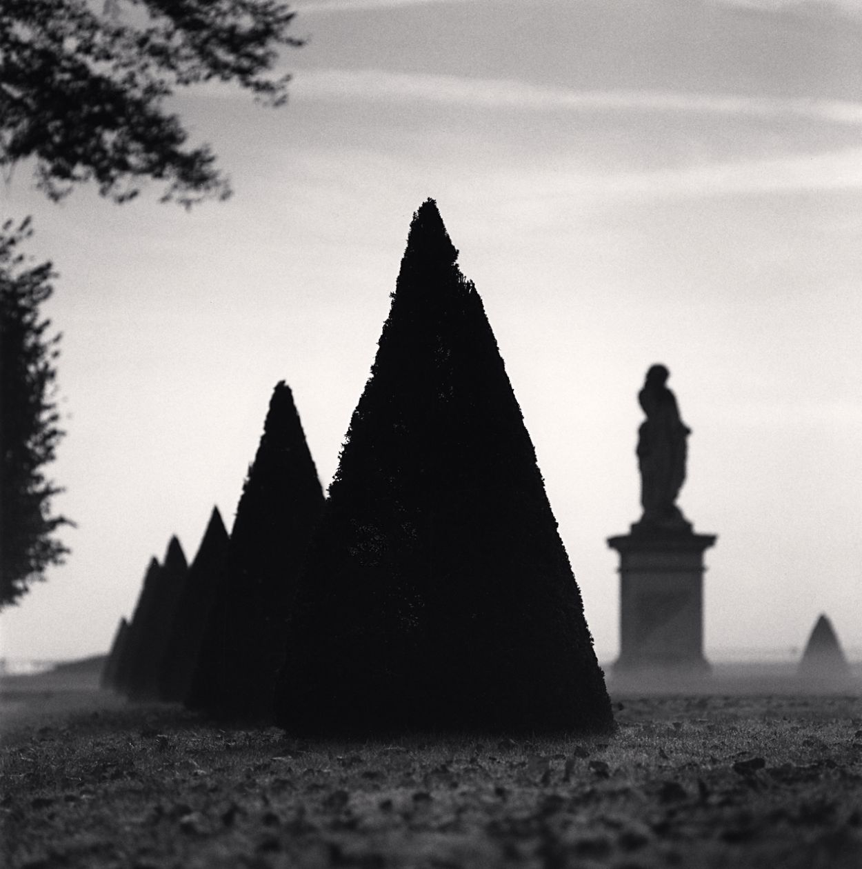 Ground Mist, St. Germaine-En-Laye (1996) by Michael Kenna