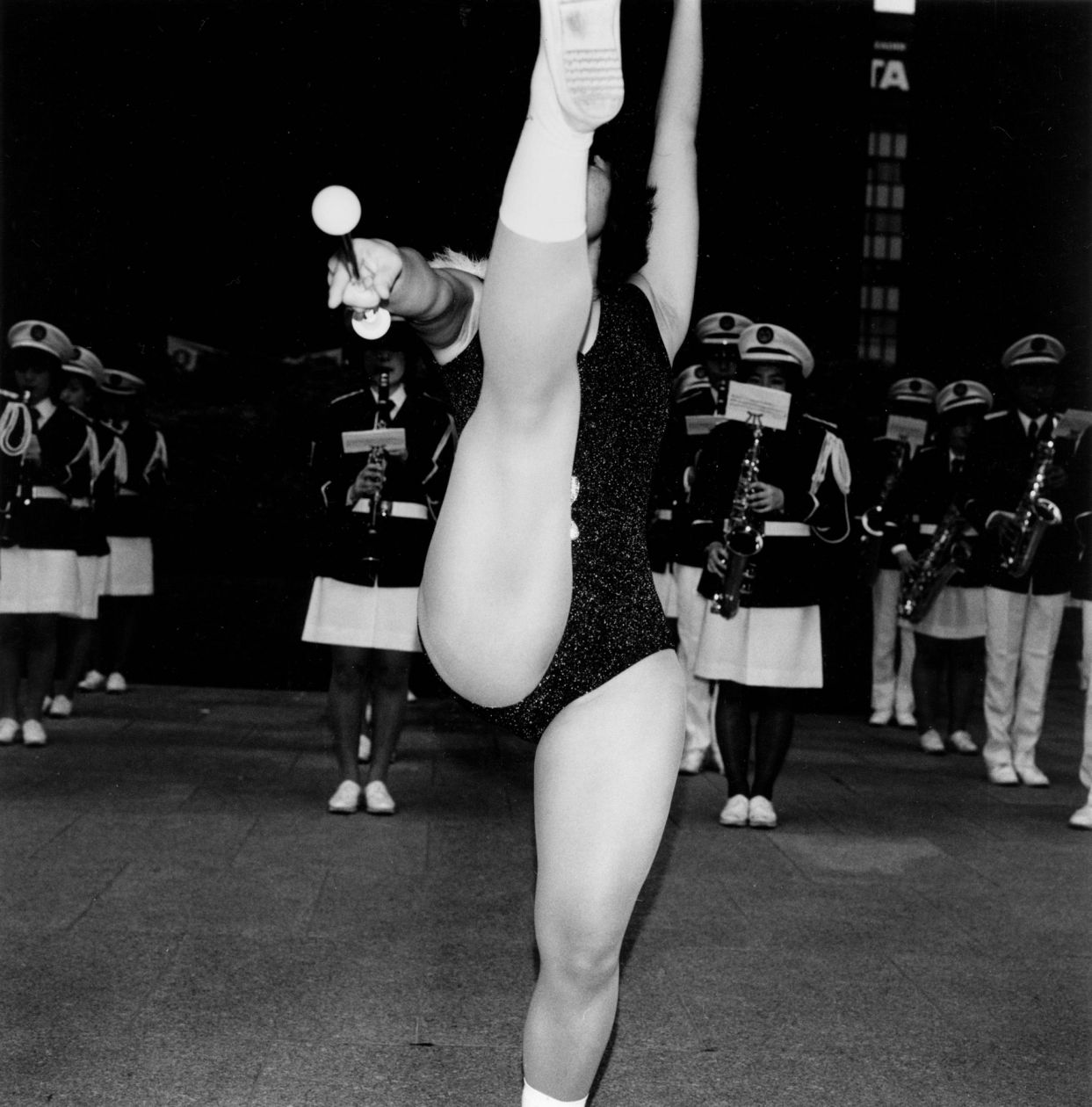 Untitled (Majorette) (Late 1970s - 1981) by Issei Suda