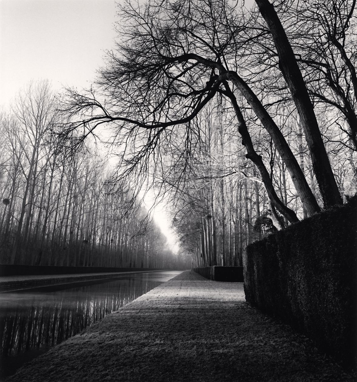 Light on Water, Courances (1997) by Michael Kenna