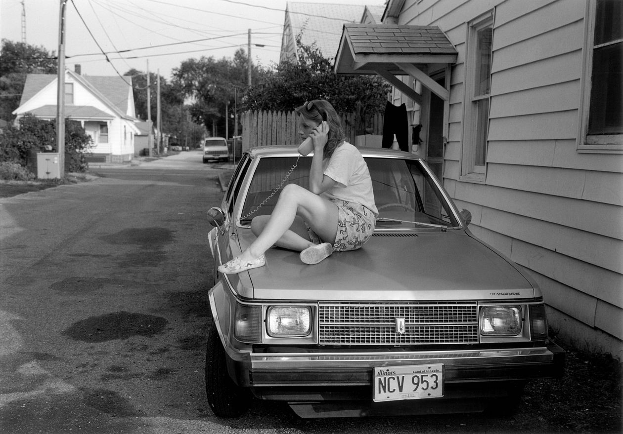 Lincoln, Illinois (1988) by Mark Steinmetz