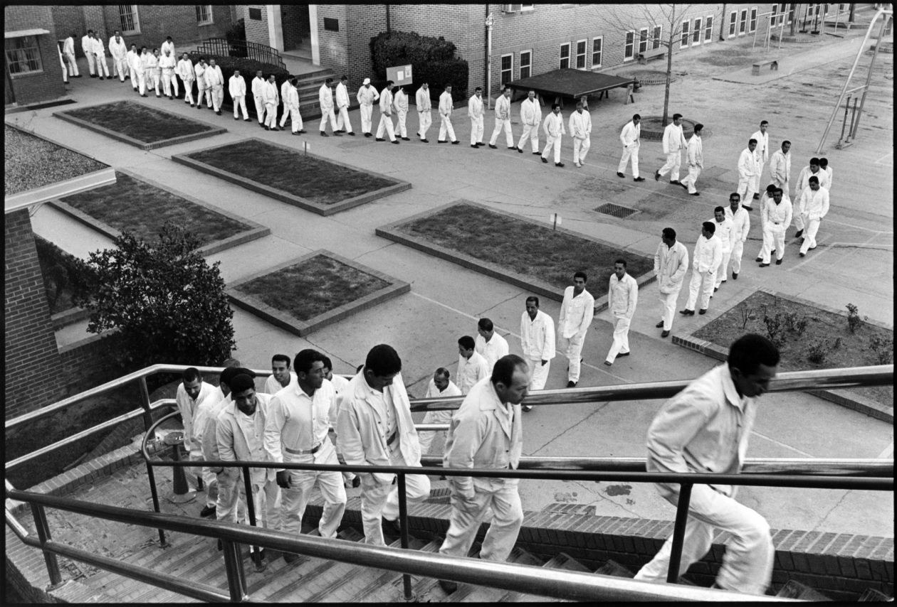 Meal Line (1967-1968) by Danny Lyon