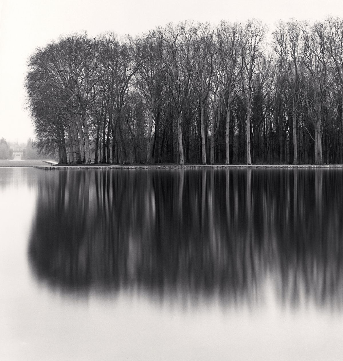 Octagonal Basin, Parc de Sceaux, Paris (1996) by Michael Kenna
