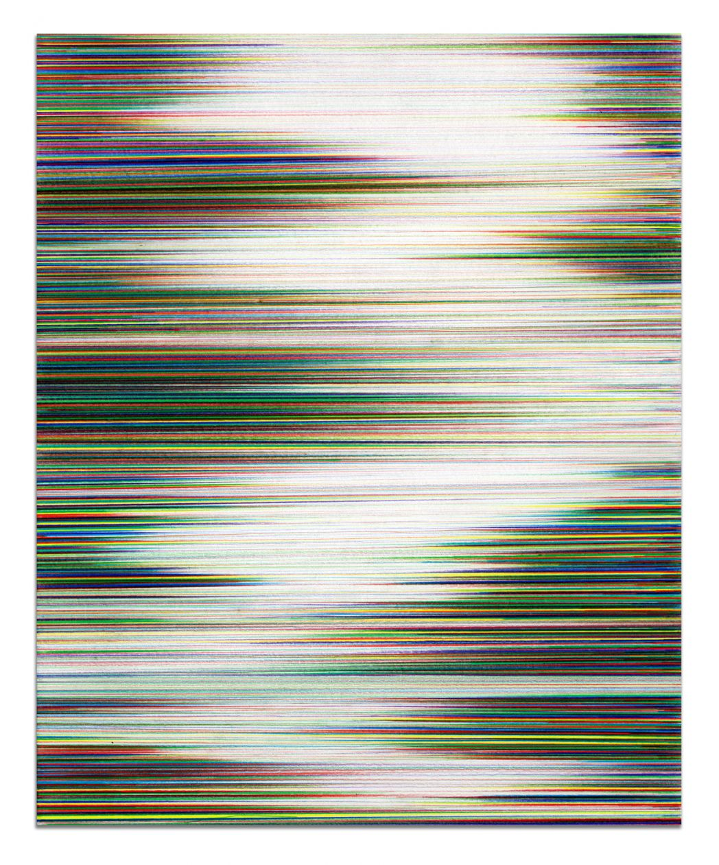 Waves in full color No. 1 (2017) by John Whitten