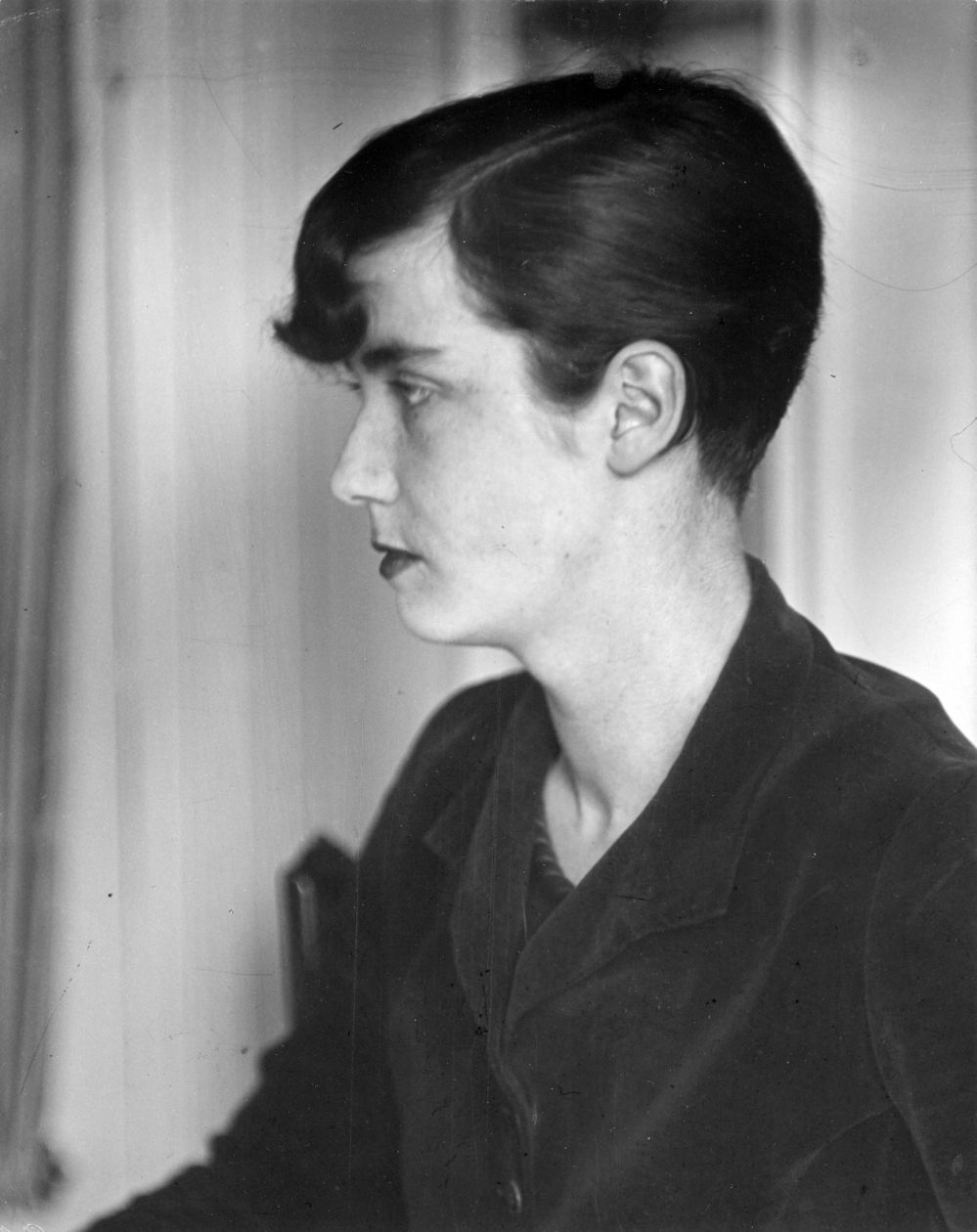 Lucia Joyce, Paris (1926-28) by Berenice Abbott