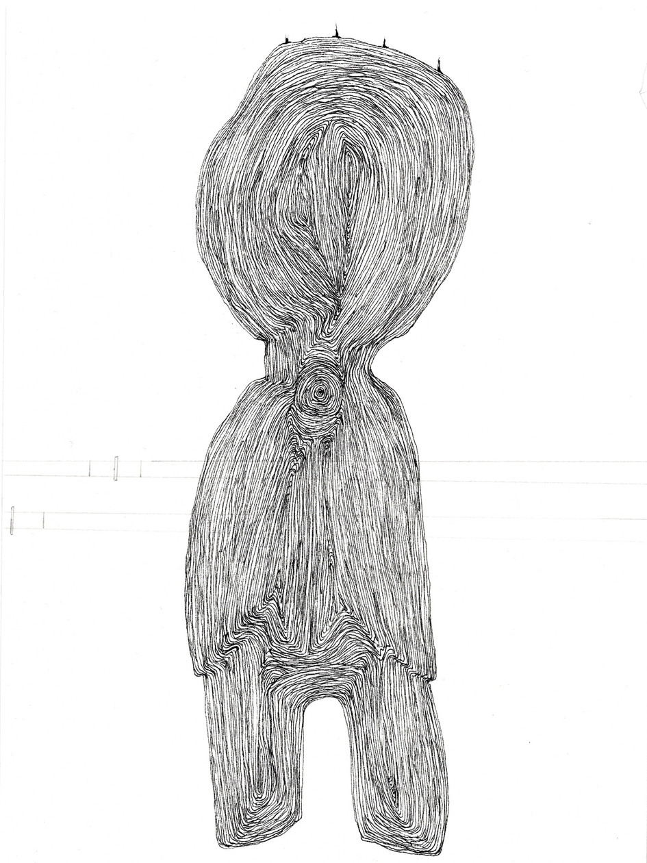 Untitled 16 (from New Drawings) (2021) by Rae Davis