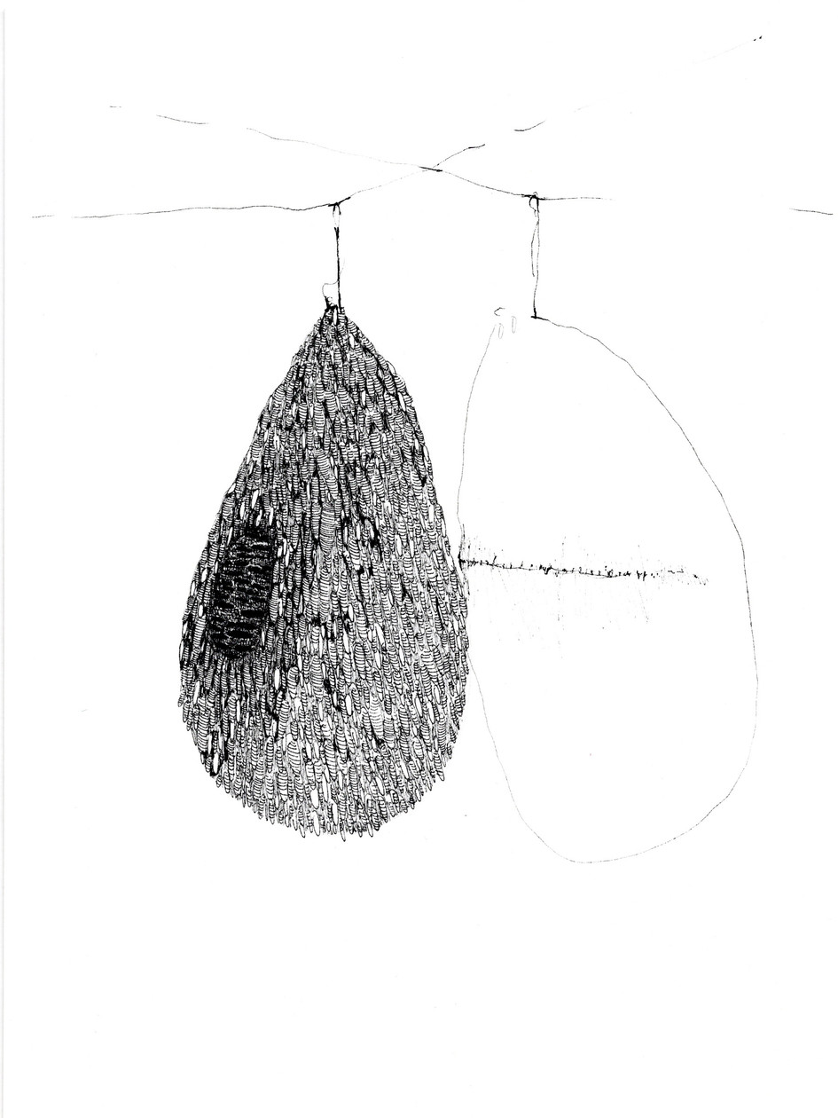 Untitled 9 (from New Drawings) (2021) by Rae Davis