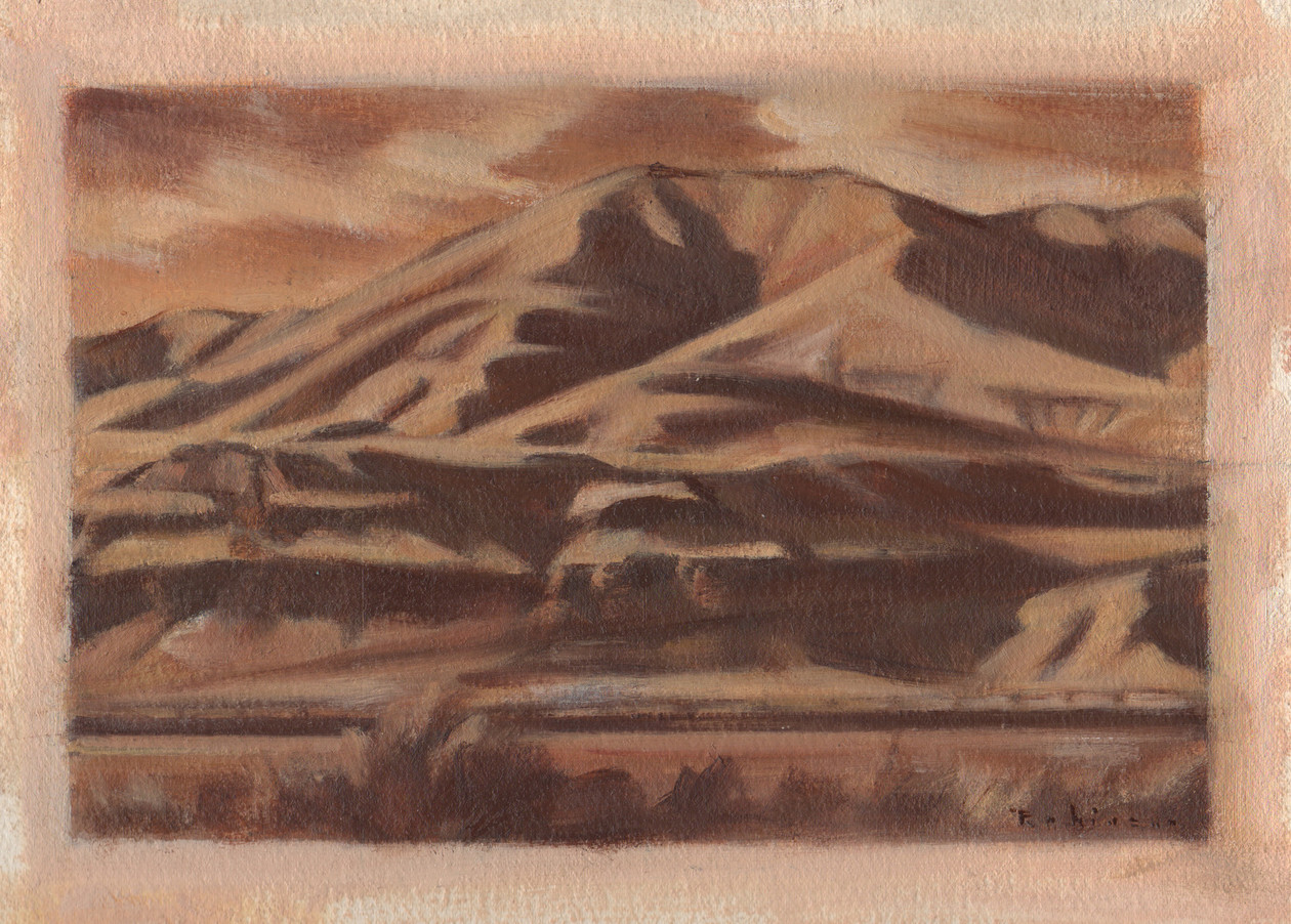 Study for Spring Hills (2016) by Daniel Robinson