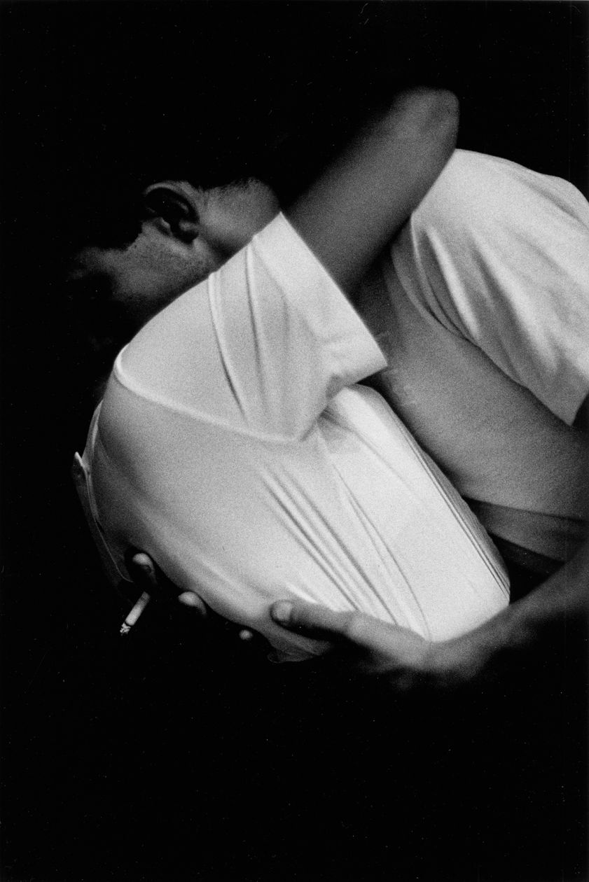 From The Age of Adolescence (couple embracing) (1960) by Joseph Sterling